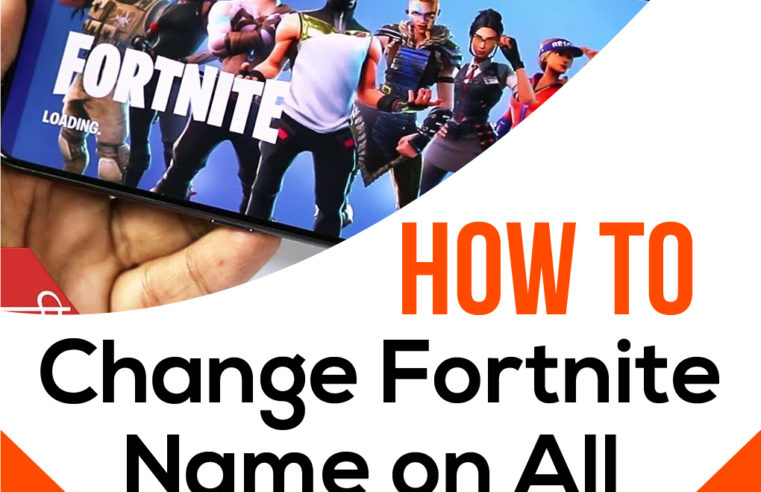 How to Change Fortnite Name