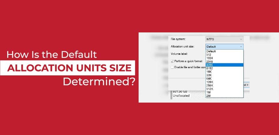 Allocation Unit Size Fat32