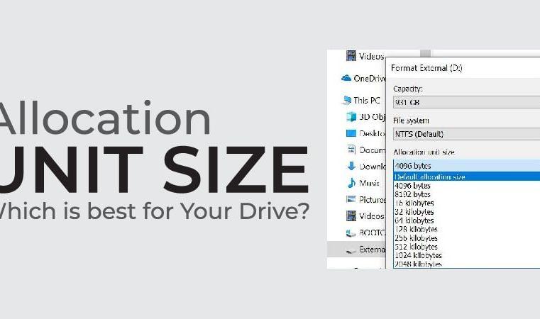 Exfat Allocation Unit Size