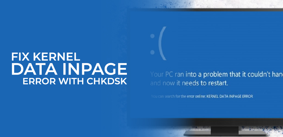 Kernel Data Inpage Error Windows 10