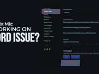 Mic Is Not Working On Discord