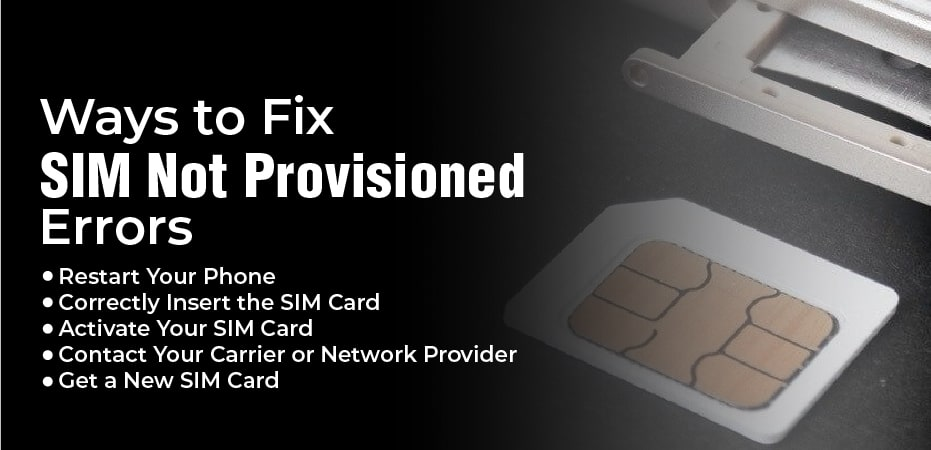 What Does Sim Not Provisioned Mm 2 Mean