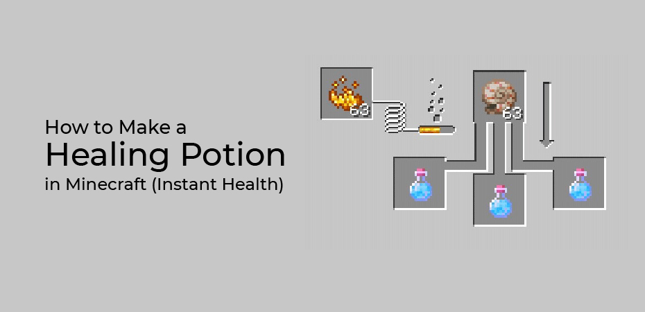 How to Make a Healing Potion in Minecraft (Instant Health)